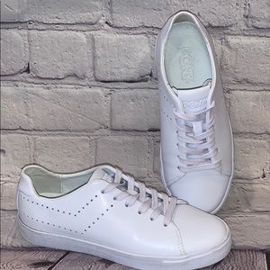 Pony sneakers all white womens size 7.5